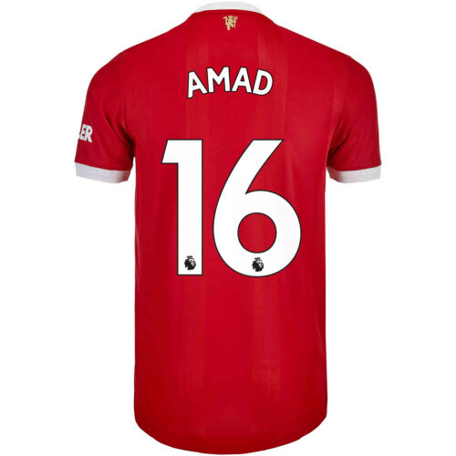 2021/22 adidas Amad Diallo Manchester United Home Authentic Jersey