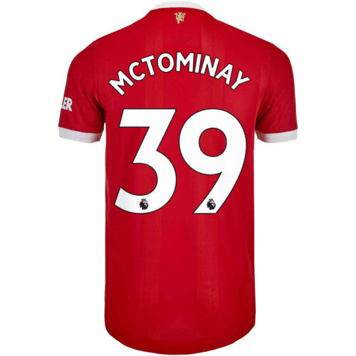 2021/22 adidas Scott McTominay Manchester United Home Authentic Jersey