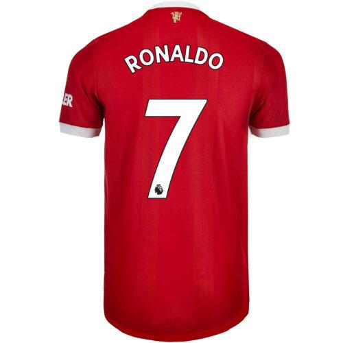 2021/22 adidas Cristiano Ronaldo Manchester United Home Authentic Jersey