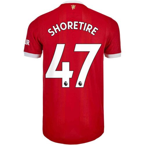 2021/22 adidas Shola Shoretire Manchester United Home Authentic Jersey