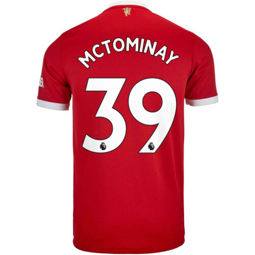 2021/22 adidas Scott McTominay Manchester United Home Jersey