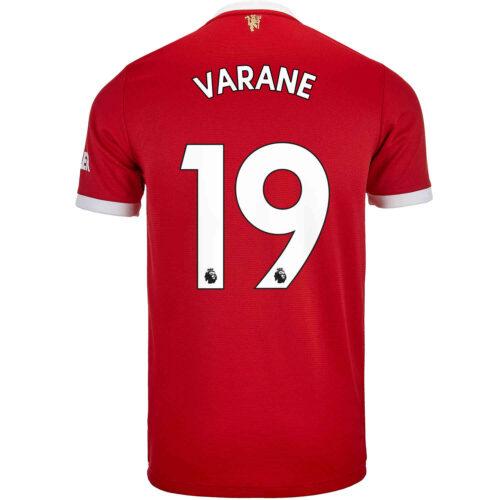 2021/22 adidas Raphael Varane Manchester United Home Jersey