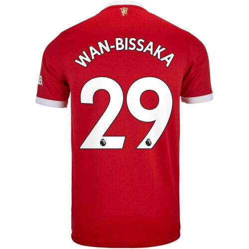 2021/22 adidas Aaron Wan-Bissaka Manchester United Home Jersey
