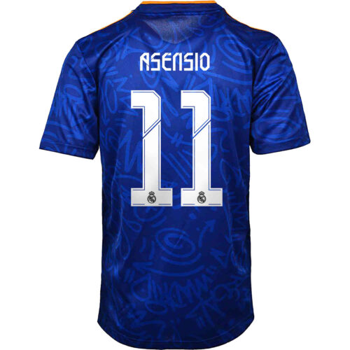 2021/22 adidas Marco Asensio Real Madrid Away Jersey