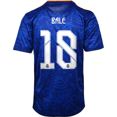 2021/22 adidas Gareth Bale Real Madrid Away Jersey