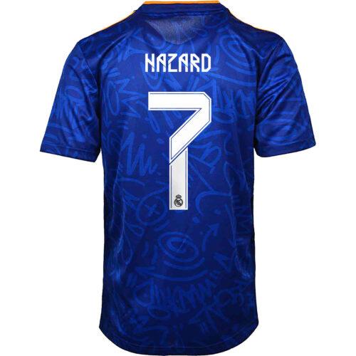 2021/22 adidas Eden Hazard Real Madrid Away Jersey