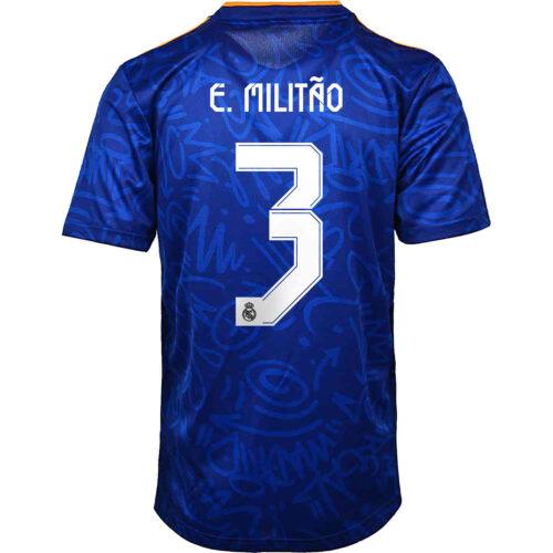 2021/22 adidas Eder Militao Real Madrid Away Jersey