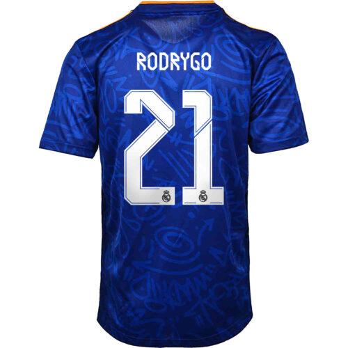 2021/22 adidas Rodrygo Real Madrid Away Jersey