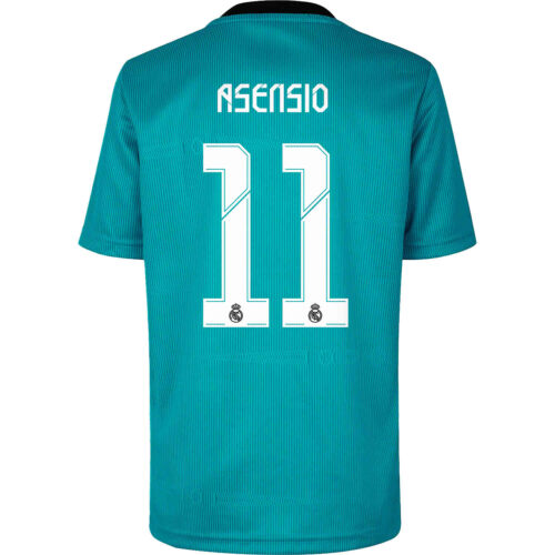 2021/22 adidas Marco Asensio Real Madrid 3rd Jersey