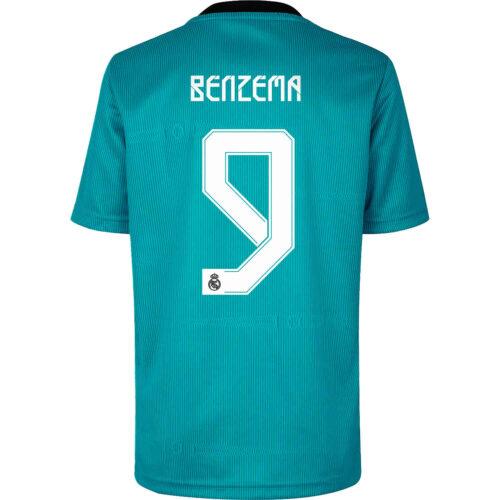 2021/22 adidas Karim Benzema Real Madrid 3rd Jersey