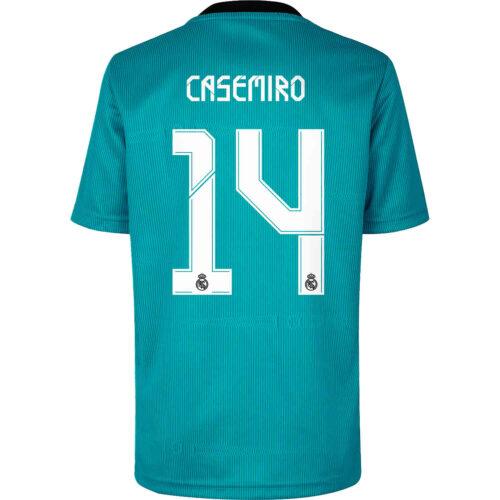 2021/22 adidas Casemiro Real Madrid 3rd Jersey