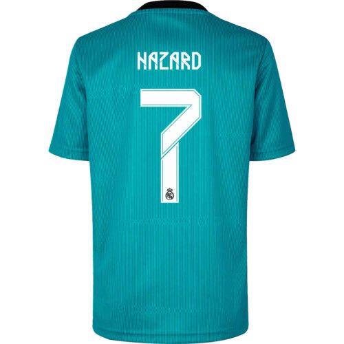 2021/22 adidas Eden Hazard Real Madrid 3rd Jersey