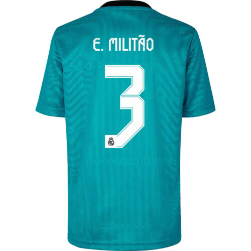 2021/22 adidas Eder Militao Real Madrid 3rd Jersey