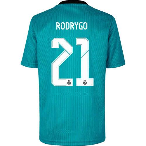 2021/22 adidas Rodrygo Real Madrid 3rd Jersey