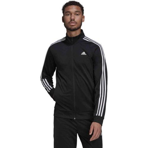 adidas 3-Stripes Track Jacket – Black/White