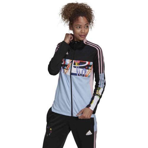 Womens adidas Tiro Love United Track Jacket – Black