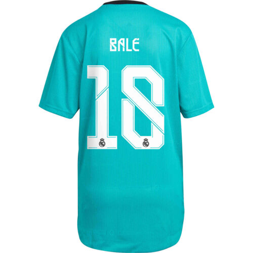 2021/22 adidas Gareth Bale Real Madrid 3rd Authentic Jersey