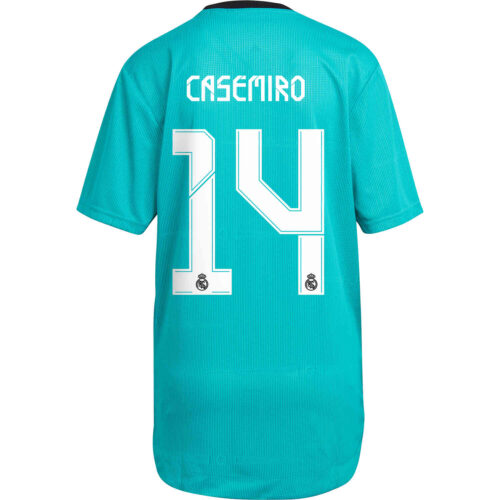 2021/22 adidas Casemiro Real Madrid 3rd Authentic Jersey
