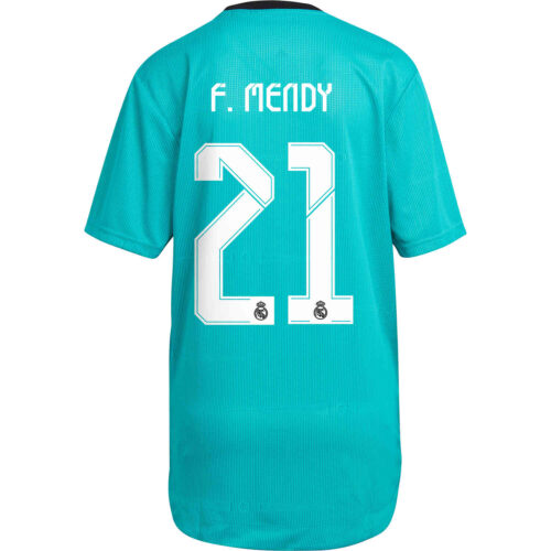 2021/22 adidas Ferland Mendy Real Madrid 3rd Authentic Jersey