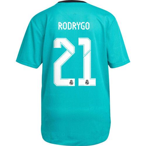 2021/22 adidas Rodrygo Real Madrid 3rd Authentic Jersey
