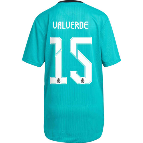 2021/22 adidas Federico Valverde Real Madrid 3rd Authentic Jersey