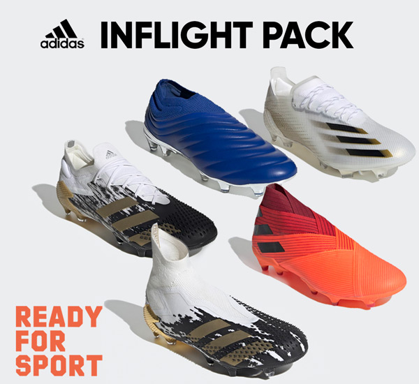 adidas InFlight pack firm ground soccer shoes