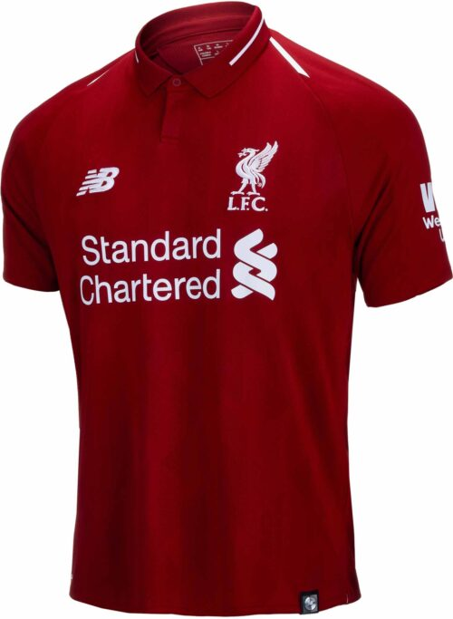 New Balance Liverpool Home Jersey – Youth – 2018-19
