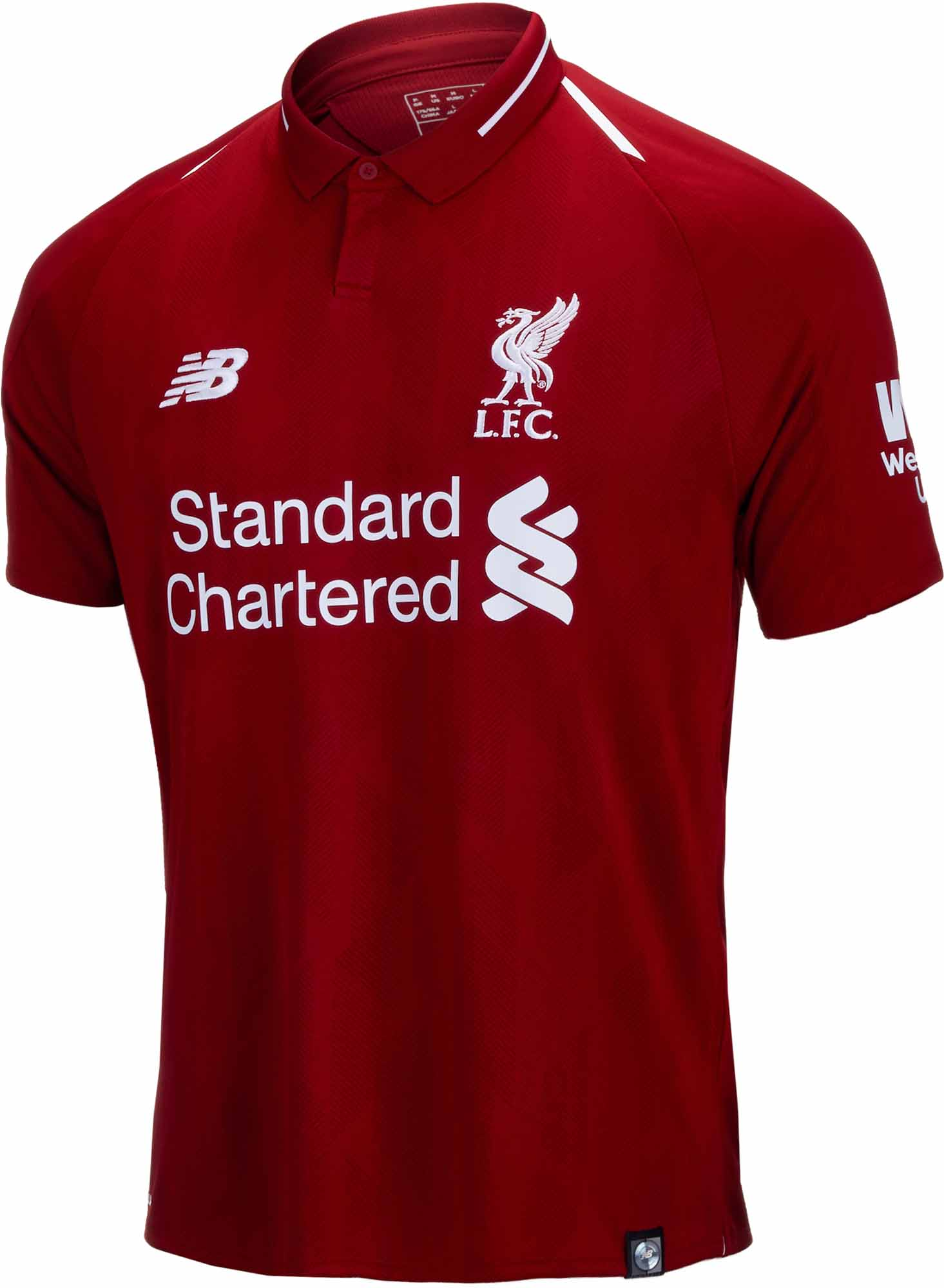 84571fdb3 2018 19 Kids New Balance Liverpool Home Jersey - SoccerPro