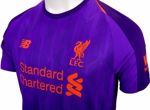 2018/19 Kids New Balance Liverpool Away Jersey