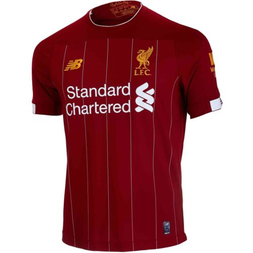 2019/20 Kids New Balance Liverpool Home Jersey