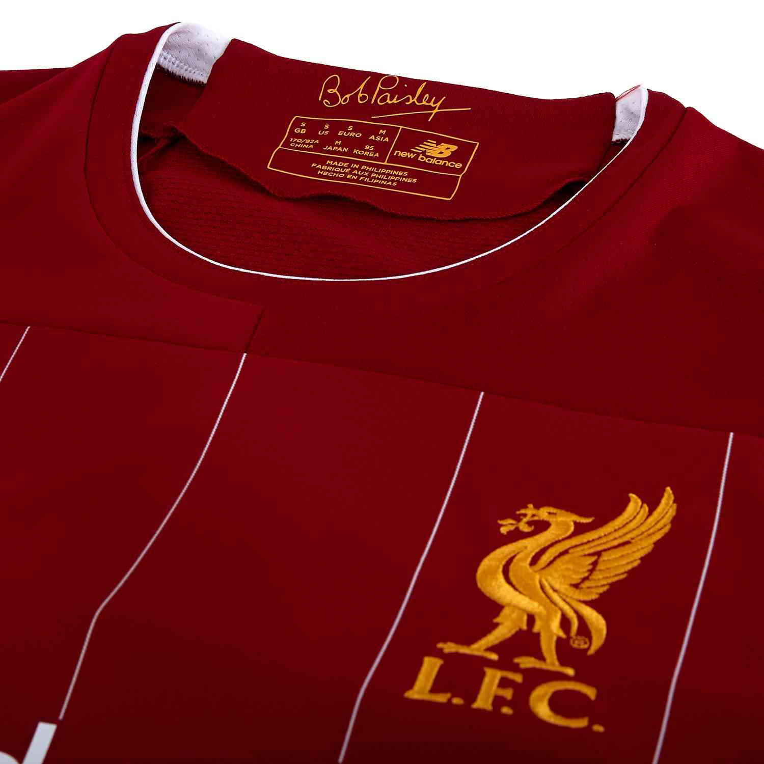 801452bad 2019/20 Kids New Balance Mohamed Salah Liverpool Home Jersey - SoccerPro