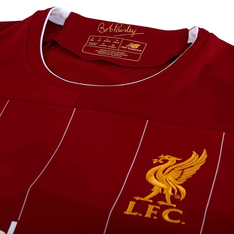 newest collection dc83e 155a6 2019/20 Kids New Balance Georginio Wijnaldum Liverpool Home ...