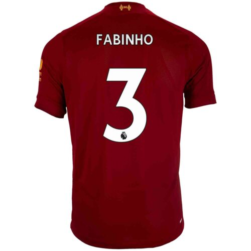 2019/20 Kids New Balance Fabinho Liverpool Home Jersey