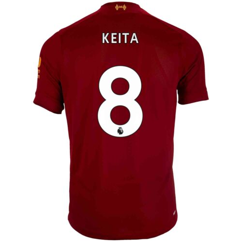 2019/20 Kids New Balance Naby Keita Liverpool Home Jersey