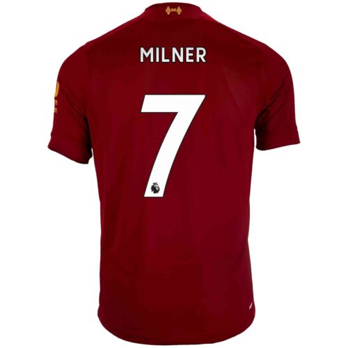 2019/20 Kids New Balance James Milner Liverpool Home Jersey