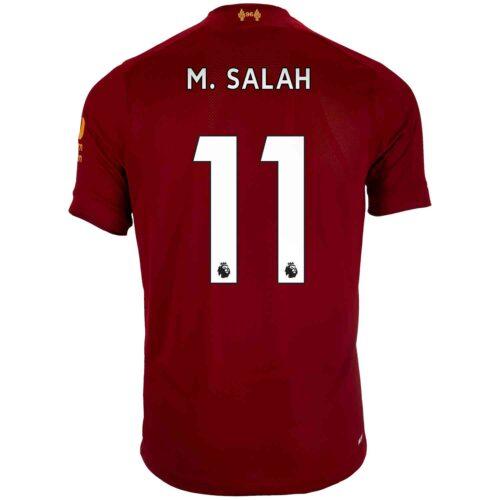 2019/20 Kids New Balance Mohamed Salah Liverpool Home Jersey