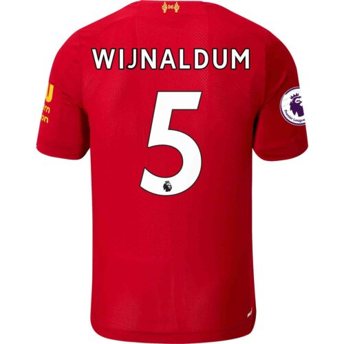 2019/20 Kids New Balance Georginio Wijnaldum Liverpool Home Jersey