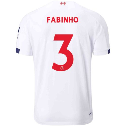2019/20 Kids New Balance Fabinho Liverpool Away Jersey