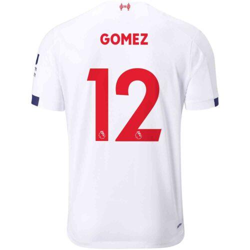 2019/20 Kids New Balance Joe Gomez Liverpool Away Jersey