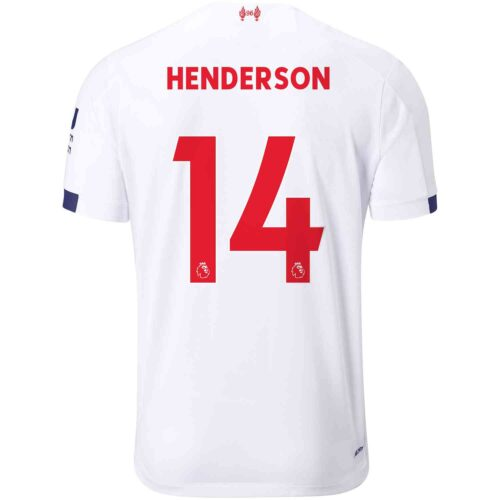 2019/20 Kids New Balance Jordan Henderson Liverpool Away Jersey