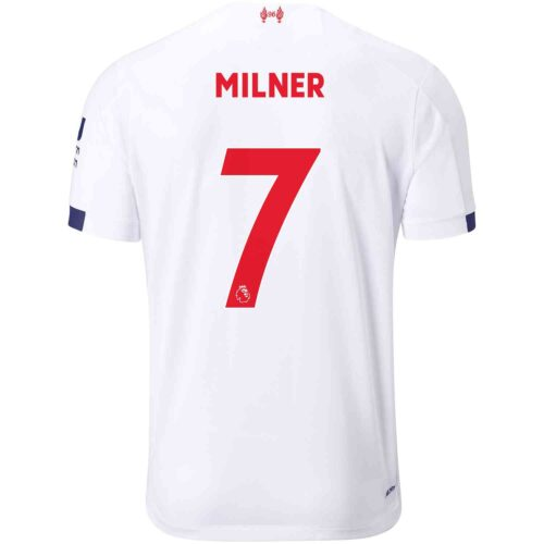 2019/20 Kids New Balance James Milner Liverpool Away Jersey
