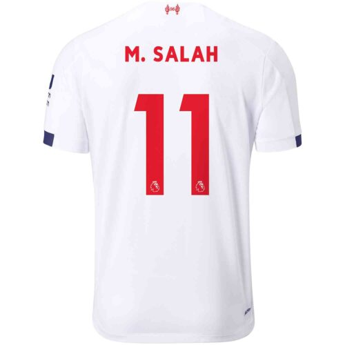 2019/20 Kids New Balance Mohamed Salah Liverpool Away Jersey