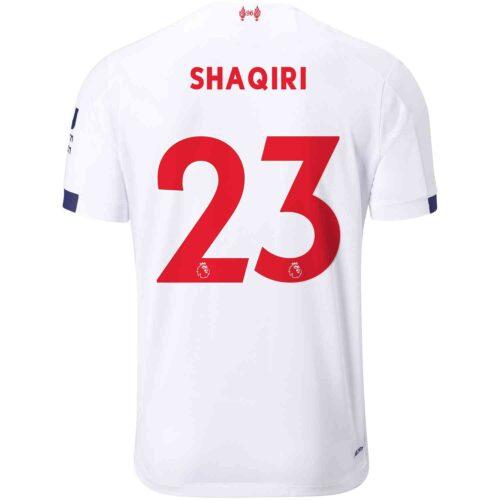 2019/20 Kids New Balance Xherdan Shaqiri Liverpool Away Jersey