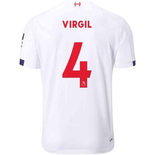2019/20 Kids New Balance Virgil van Dijk Liverpool Away Jersey