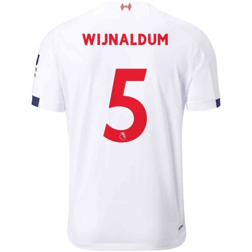 2019/20 Kids New Balance Georginio Wijnaldum Liverpool Away Jersey