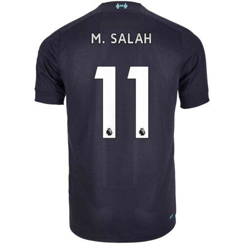 2019/20 Kids New Balance Mohamed Salah Liverpool 3rd Jersey