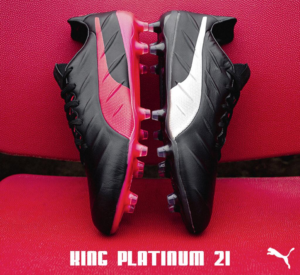 Puma King Platinum 21 firm ground soccer cleats