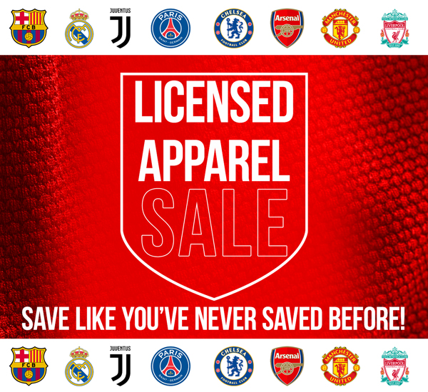 Licensed Jerseys - On Sale