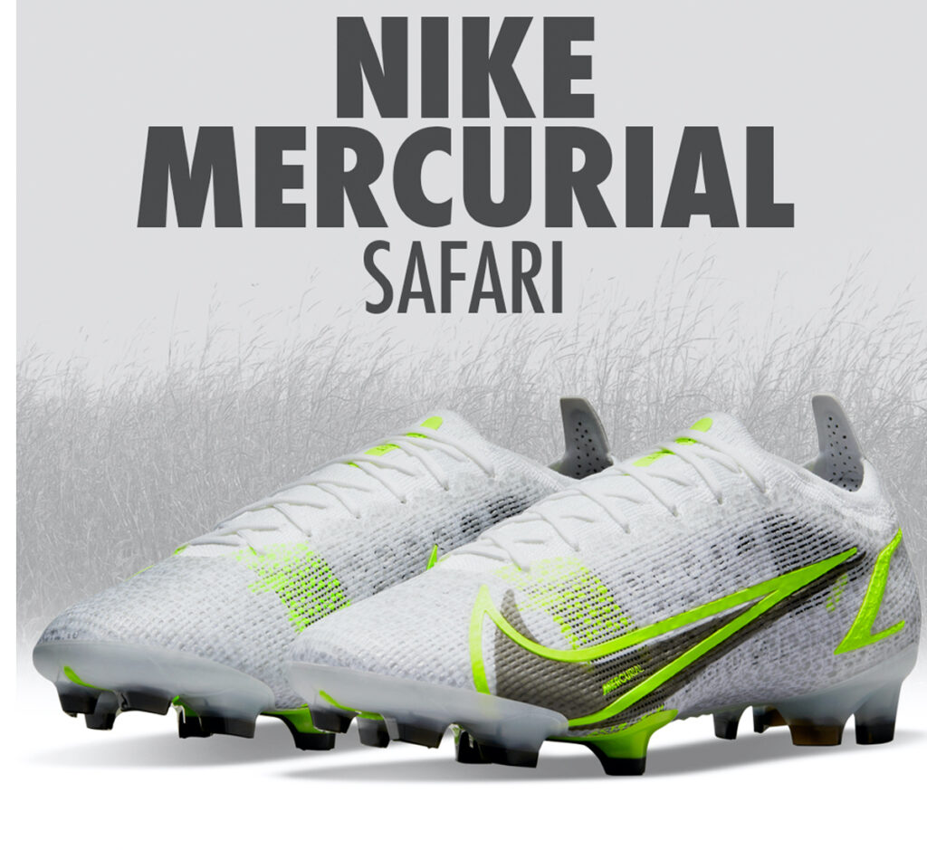 nike mercurial safari special edition cleats by nike