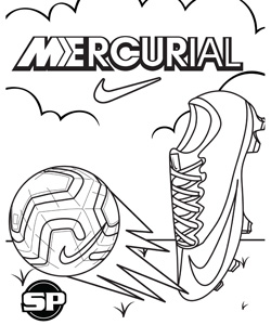 Nike Coloring Pages